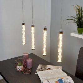 Bezaubernde LED-Pendellampe Rieke, 4-flammig