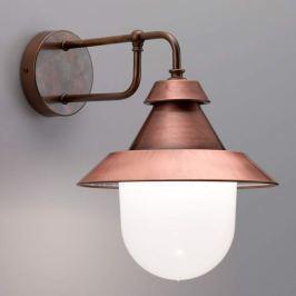 Castello - schöne Außenwandlampe im Materialmix