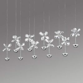 Extravagante LED-Hängeleuchte Pianopoli