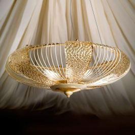 Gold gebeizte Hängeleuchte Marrakech