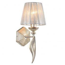 In Vintagegold gestaltete Wandlampe Serena Antique