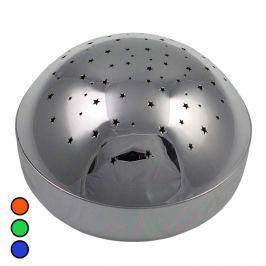 Silbernes LED-Nachtlicht Metallic Projektor