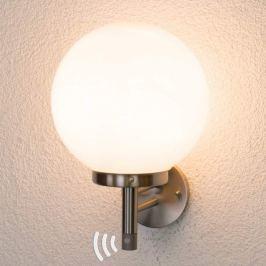 Kugelförmige Sensor-Außenwandlampe Juella