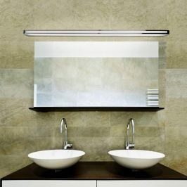 Arcos - vielseitige Wandleuchte in Chrom, 150 cm
