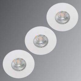 Kleiner LED-Einbauspot Flip für Feuchträume weiß