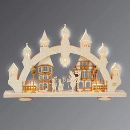 Beeindruckender 3D-Lichterbogen Altstadt