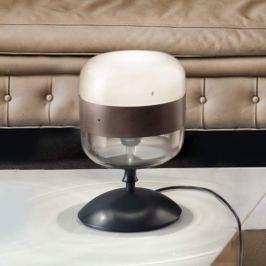 Designer-Tischlampe Futura aus Glas, 29 cm