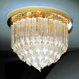 24 K vergoldete Kristall-Deckenlampe Punta