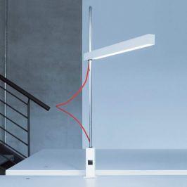 Helle LED-Klemmleuchte Travis-T1 mit rotem Kabel