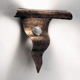Exklusive Wandleuchte ONDA, bronze