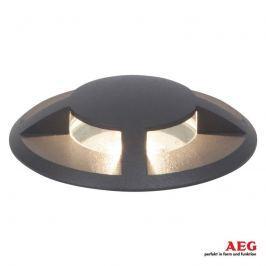 AEG Tritax - LED-Bodeneinbaulampe, vierseitig