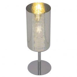Silber gestreifte Tischlampe Emotion