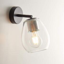 Casablanca Bagan - variable Wandlampe Kristallglas