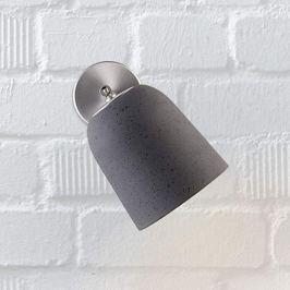 Casablanca Clavio - Keramik-Wandlampe, anthrazit