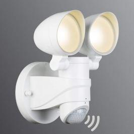 2-flammiger LED-Außenstrahler Eldos mit Sensor