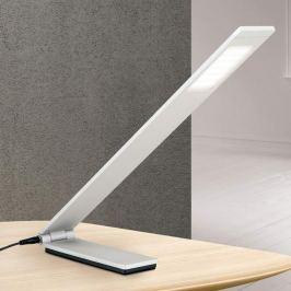 Faltbare LED-Tischleuchte Neville - alu matt