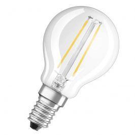 E14 2,5W 827 LED-Tropfenlape Retrofit klar