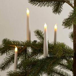 4er-Set kabellose Christbaumkerzen Carolin