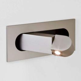 Astro Digit LED-Einbauleuchte als Leselicht nickel