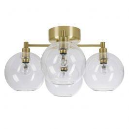 Vierflammige Glas-Deckenlampe Gloria