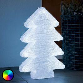 Bunt leuchtender LED-Baum RGB
