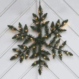 Batteriebetriebene LED-Außendeko Snowflake