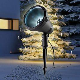 Außendekorationsleuchte LED Projektor Snow Fassade