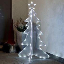 Dreidimensional gestalteter LED-Baum 90 cm