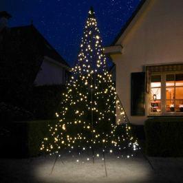 Fairybell® Weihnachtsbaum mit Mast, 3 m, blinkend