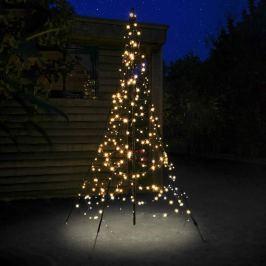 Fairybell® Weihnachtsbaum mit Mast, 2 m 300 LEDs