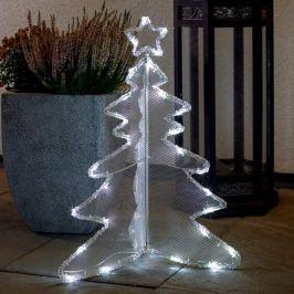 Dreidimensional gestalteter LED-Baum 60 cm