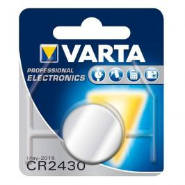 Knopfzelle CR2430 3V Lithium VARTA