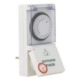 Steckdosen-Zeitschaltuhr für Außen