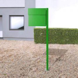Letterman IV Standbriefkasten grün