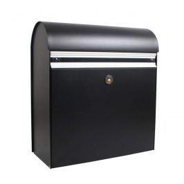 Robuster Briefkasten KS200, schwarz