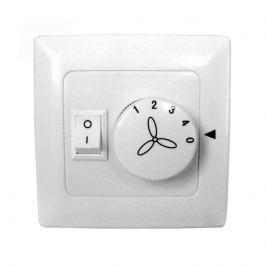 Wandschalter Ventilatoren, 4-stufig, Beleuchtung