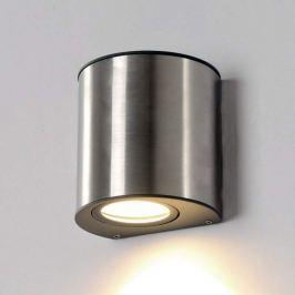 Kleine LED-Wandlampe Ilumi für den Außenbereich