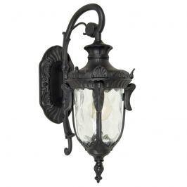 Antike Außenwandlampe Philadelphia black