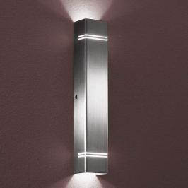 Case LED - hochwertige Wandleuchte, alu matt