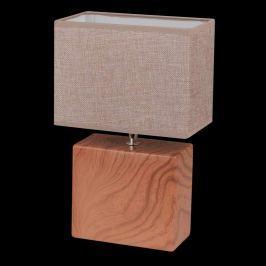 Quaderförmige Tischleuchte Log, 32 cm hoch