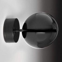 Milan Bo-La - kugelförmige Wandlampe, schwarz