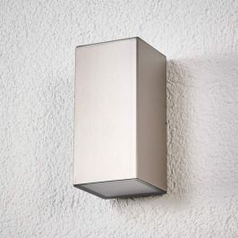 Jana - hochwertige Edelstahl-LED-Außenwandlampe