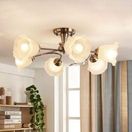 Elegante Deckenlampe Aurelia mit floralem Aussehen