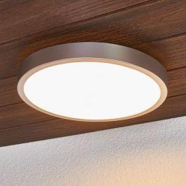 Liyan - silberne LED-Deckenlampe fürs Bad
