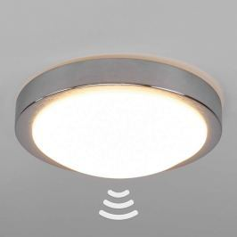 Alu-LED-Deckenlampe Aras mit Sensor fürs Bad