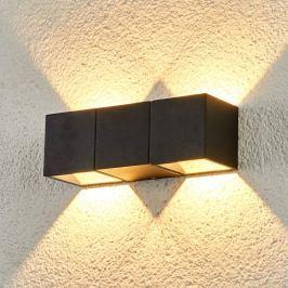 Zweiflammige LED-Außenwandlampe Elian