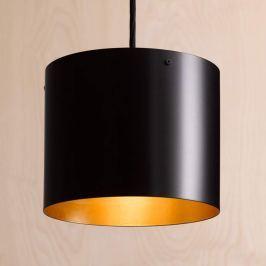 ANTA Afra LED-Hängeleuchte schwarz-gold