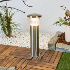 Edelstahl-LED-Sockelleuchte Kiki