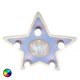 Deckenleuchte Happy Star mit bunten LEDs