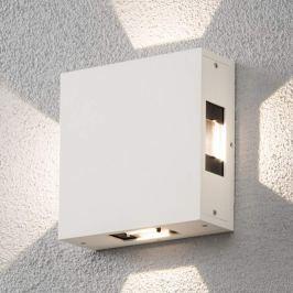 Cremona - LED-Außenwandleuchte, verstellbar, weiß